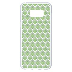 Peacock Love2 Peacock Love2 Samsung Galaxy S8 Plus White Seamless Case