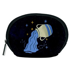 Aquarius Horoscope Astrology Zodiac Accessory Pouch (medium)