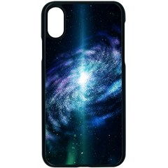 The Galaxy Iphone Xs Seamless Case (black) by ArtsyWishy