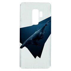 Blue Whales Samsung Galaxy S9 Plus Tpu Uv Case by goljakoff