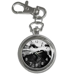 Whale In Clouds Key Chain Watches by goljakoff