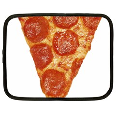 Pizza Slice Netbook Case (large) by dajjj