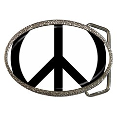 Peace Sign Belt Buckles
