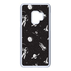 Space Love Samsung Galaxy S9 Seamless Case(white) by designsbymallika
