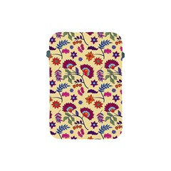 Pretty Ethnic Flowers Apple Ipad Mini Protective Soft Cases by designsbymallika