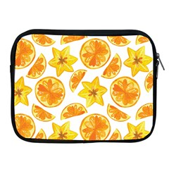 Oranges Love Apple Ipad 2/3/4 Zipper Cases by designsbymallika
