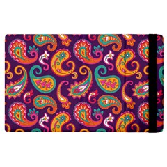 Paisley Purple Apple Ipad Pro 12 9   Flip Case by designsbymallika