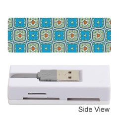 Traditional Indian Pattern Memory Card Reader (stick)