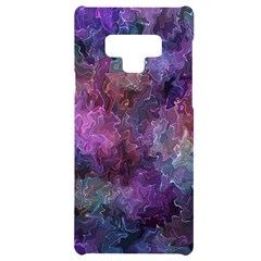 Multicolored Abstract Samsung Note 9 Black Uv Print Case