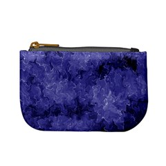 Lilac Abstract Mini Coin Purse