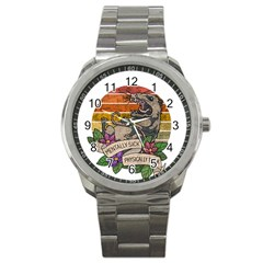Possum - Mentally Sick Physically Thick Sport Metal Watch