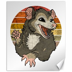 Possum  Canvas 8  X 10