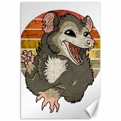 Possum  Canvas 12  X 18