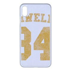 Orwell 84 Iphone Xs Max Seamless Case (white)