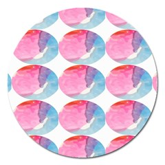 Colorful Magnet 5  (round) by Sparkle