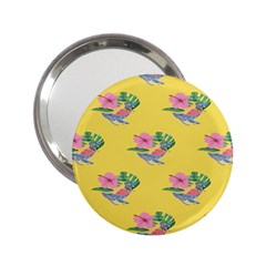 Floral 2 25  Handbag Mirrors by Sparkle