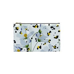 Tree Poppies  Cosmetic Bag (small) by Sobalvarro