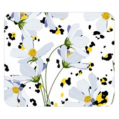 Tree Poppies  Double Sided Flano Blanket (small)  by Sobalvarro