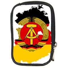 Flag Map Of East Germany (1959¨c1990) Compact Camera Leather Case