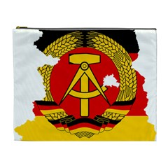 Flag Map Of East Germany (1959¨c1990) Cosmetic Bag (xl)