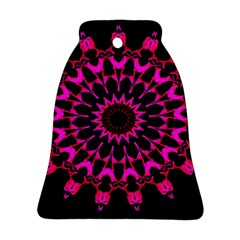 Digital Handdraw Floral Bell Ornament (two Sides)