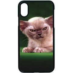 Kitty Cat Is Very Angry From Fonebook Iphone X Seamless Case (black)