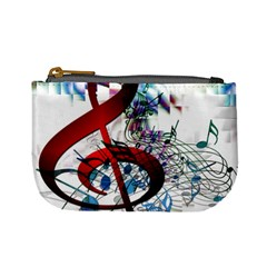 Music Treble Clef Sound Mini Coin Purse