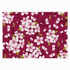 Cherry Blossom Large Glasses Cloth