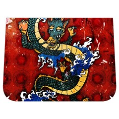 Dragon Buckle Messenger Bag
