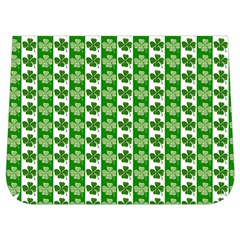 Clover Leaf Shamrock St Patricks Day Buckle Messenger Bag