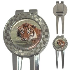 Swimming Tiger 3-in-1 Golf Divots