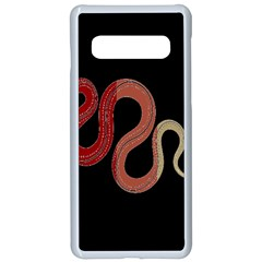 Snake Samsung Galaxy S10 Seamless Case(white) by Lotus