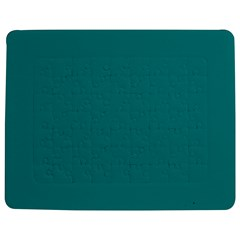 Color Teal Jigsaw Puzzle Photo Stand (rectangular)