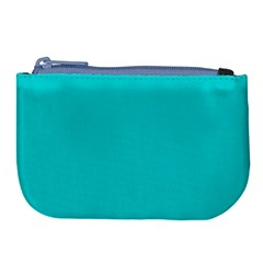 Color Dark Turquoise Large Coin Purse by Kultjers