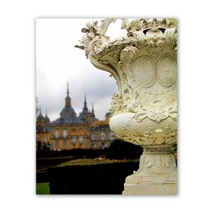 Vase In Palace Garden Poster 16  X 20