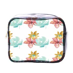 Floral Nature Mini Toiletries Bag (one Side) by Sparkle