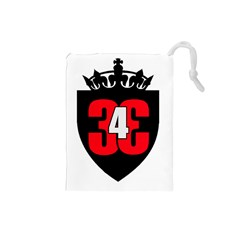 343 Logo Drawstring Pouch (small) by 343Initiative