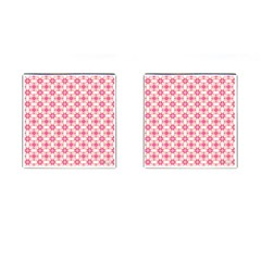Pinkshabby Cufflinks (square)