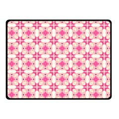 Pink-shabby-chic Fleece Blanket (small)