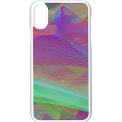 Color Winds Iphone Xs Seamless Case (white) by LW41021