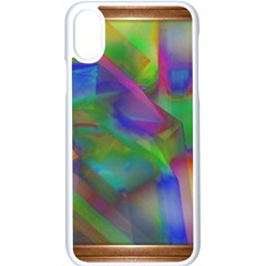 Prisma Colors Iphone Xs Seamless Case (white) by LW41021