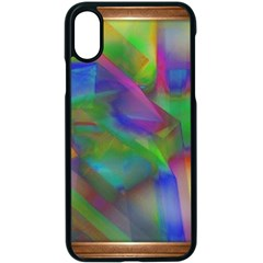 Prisma Colors Iphone Xs Seamless Case (black) by LW41021