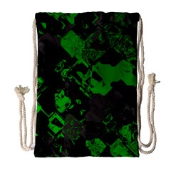 Cyber Camo Drawstring Bag (large)