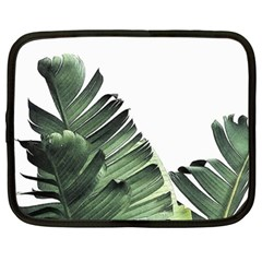 Banana Leaves Netbook Case (xl) by goljakoff