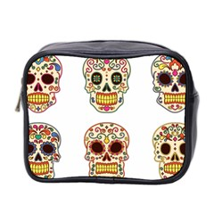 Day Of The Dead Day Of The Dead Mini Toiletries Bag (two Sides)