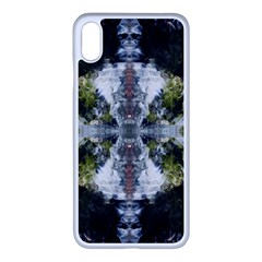 Mixed Media Painting Repeats Iphone Xs Max Seamless Case (white)