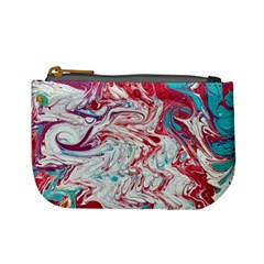 Marbling Patterns Mini Coin Purse