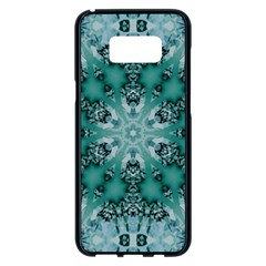 Blue Gem Samsung Galaxy S8 Plus Black Seamless Case
