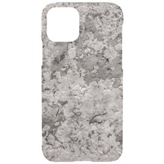 Silver Abstract Grunge Texture Print Iphone 11 Pro Black Uv Print Case