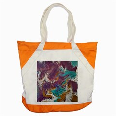 Painted Feathers Accent Tote Bag